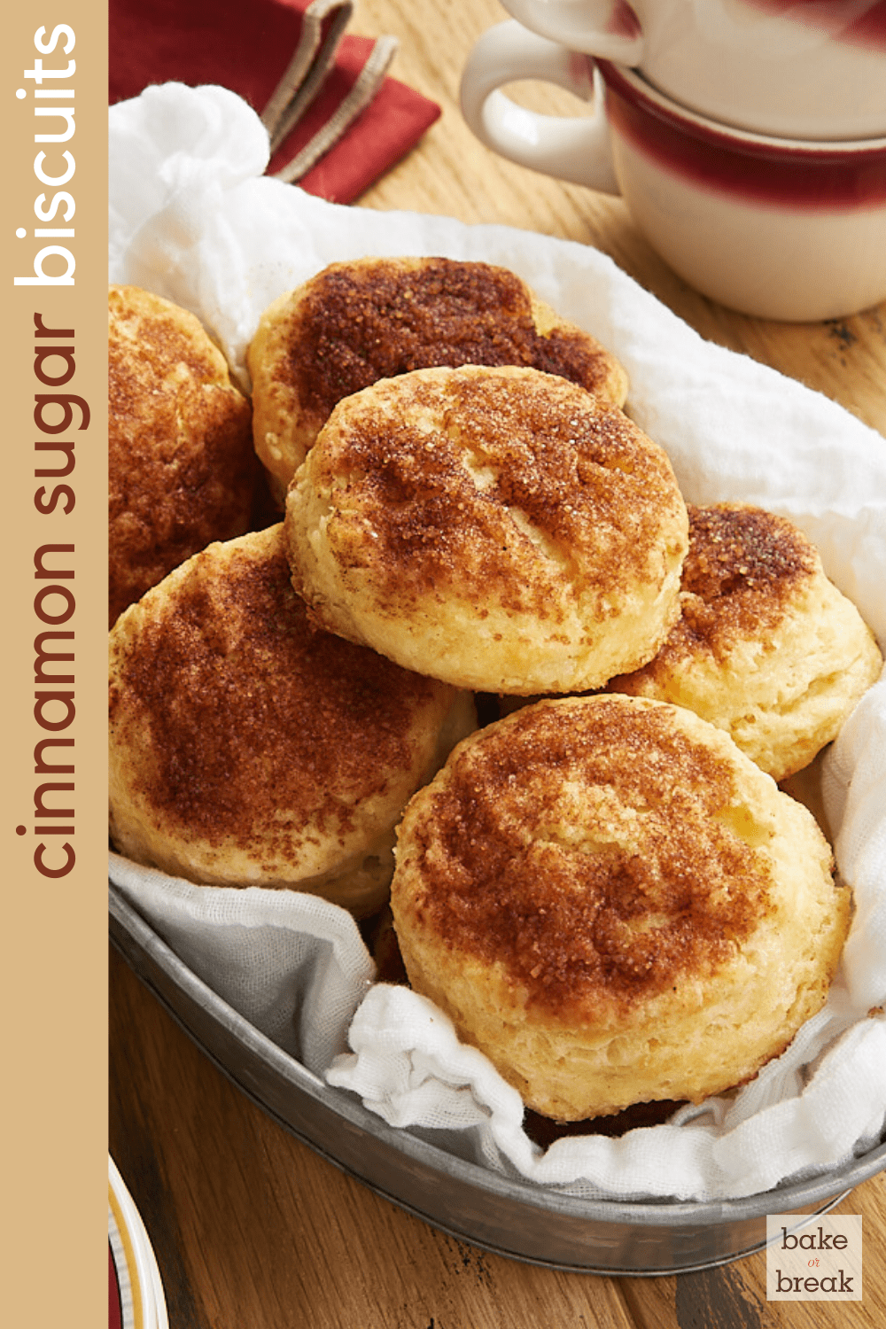 Cinnamon Sugar Biscuits bakeorbreak