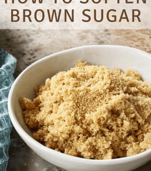 How to Soften Brown Sugar bakeorbreak.com