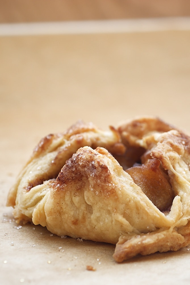 Apple Pie Bundle on parchment paper