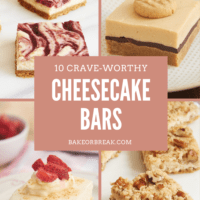 10 Crave-Worthy Cheesecake Bars bakeorbreak.com