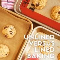 Unlined Versus Lined Baking Sheets bakeorbreak.com