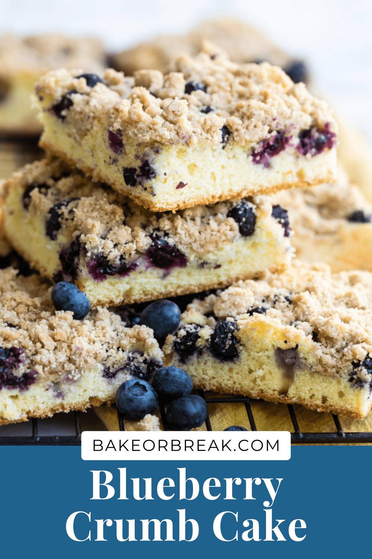 Blueberry Crumb Cake bakeorbreak.com