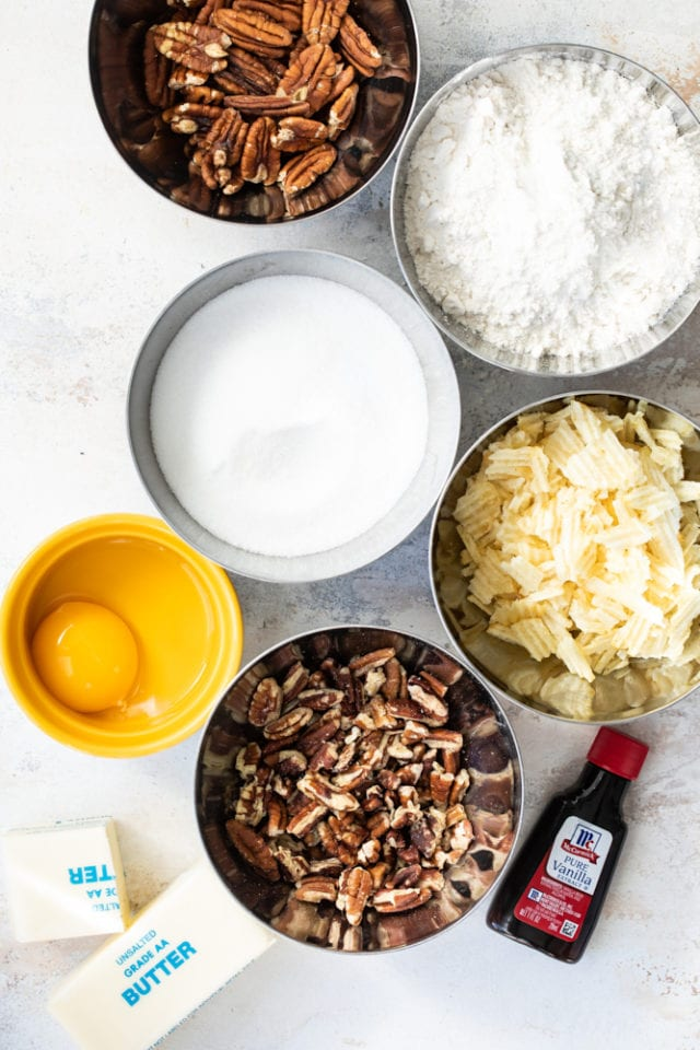 ingredients for making Potato Chip Cookies