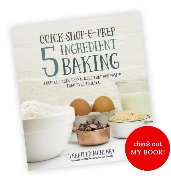 5 Ingredient Baking Cover Mockup