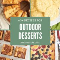 60+ Recipes for Outdoor Desserts bakeorbreak.com