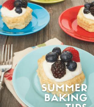 Summer Baking Tips bakeorbreak.com