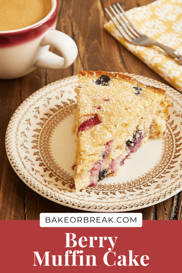 Berry Muffin Cake bakeorbreak.com