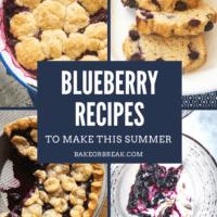 Blueberry Recipes to Make This Summer bakeorbreak.com