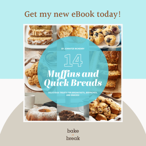 Get my new eBook today! 14 Muffins and Quick Breads