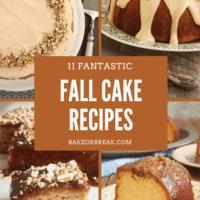11 Fantastic Fall Cake Recipes bakeorbreak.com